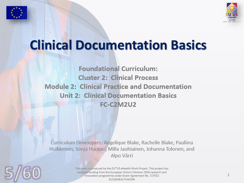 Clinical Documentation Basics