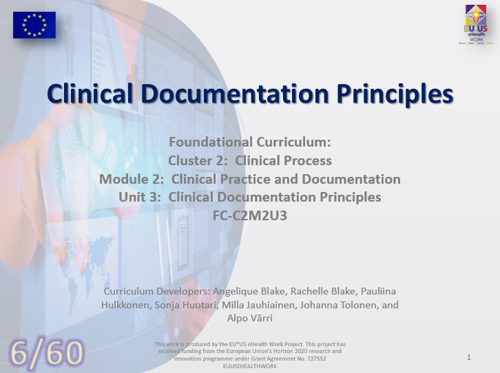 Clinical Documentation Principles