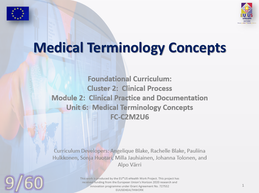 Medical Terminology Concepts