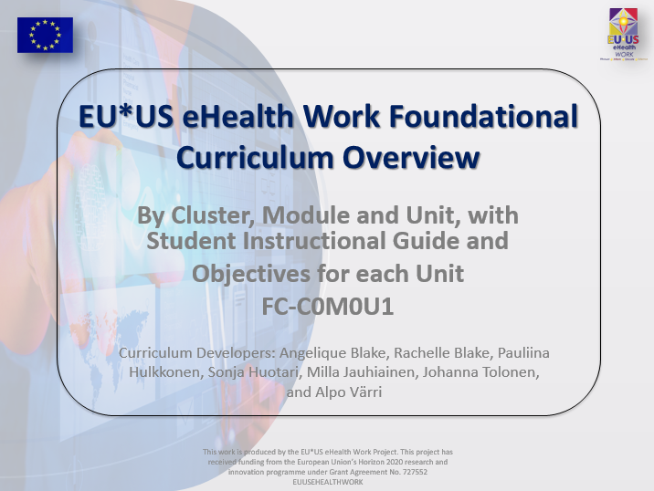 Foundational Curriculum overview
